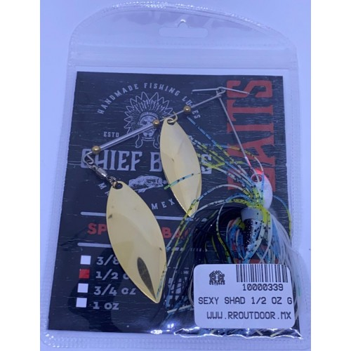 Chief Baits Spinnerbait 1/2oz Double Willow