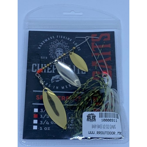 Chief Baits Spinnerbait 1/2oz Triple Willow