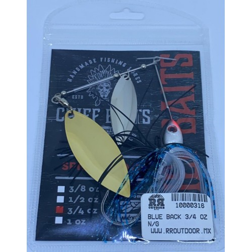Chief Baits Spinnerbait 3/4oz Double Willow