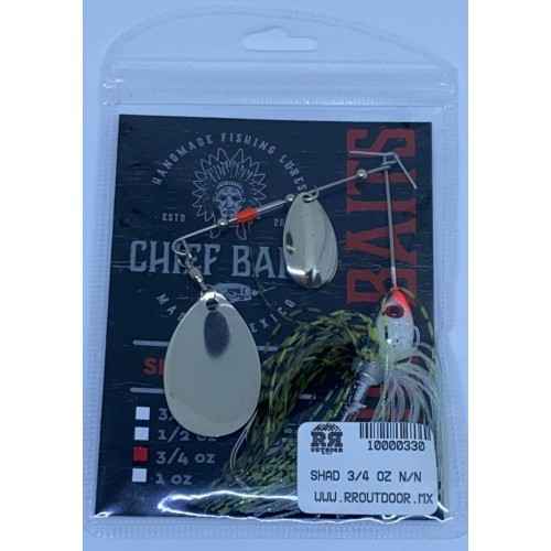 Chief Baits Spinnerbait 3/4oz Colorado Willow