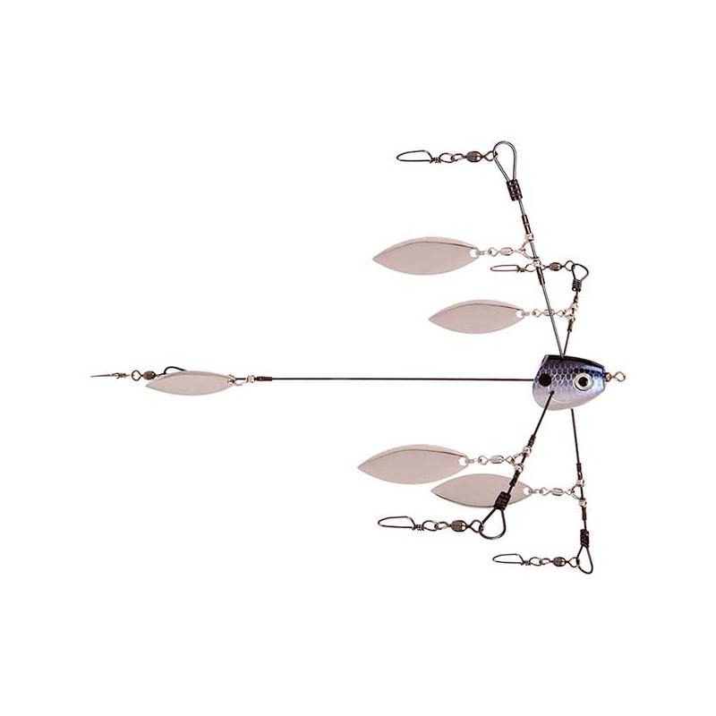 Bladed Tour Grade Titanium Umbrella Rig