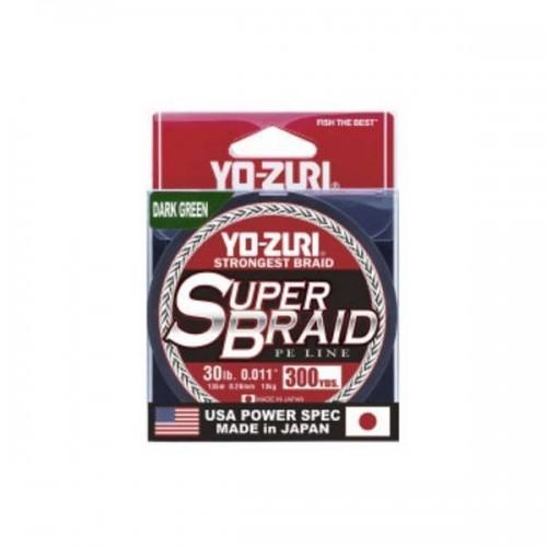 Super Braid Dark Green Yo-Zuri