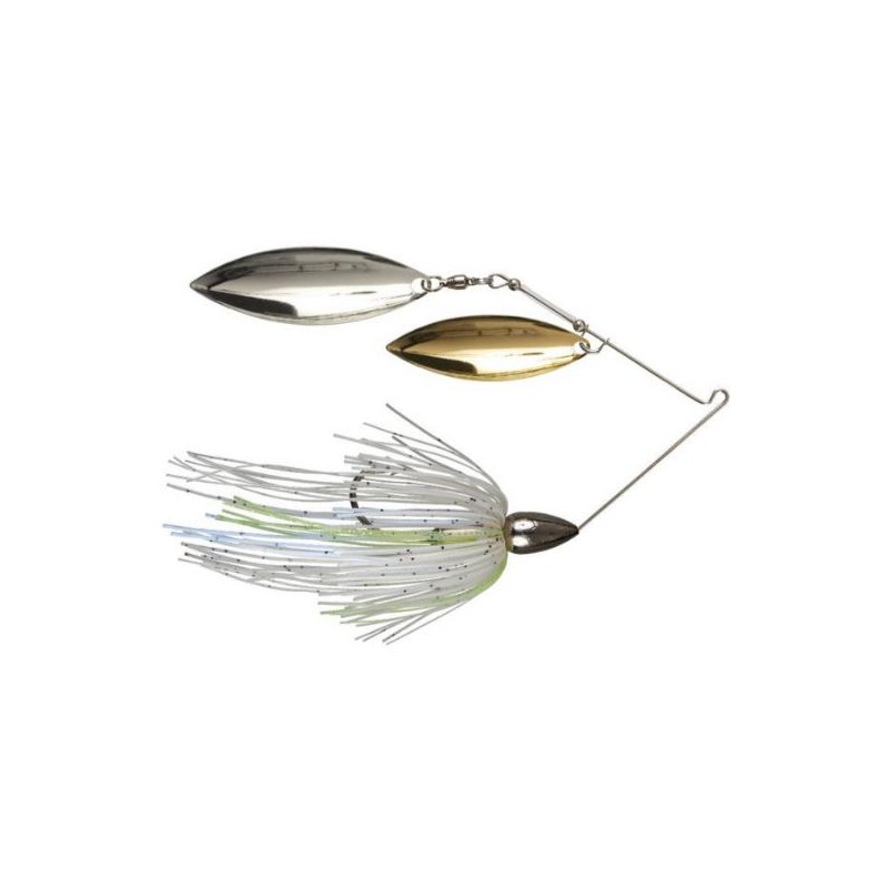 War Eagle Gold Spinnerbait 1/2oz Double Willow